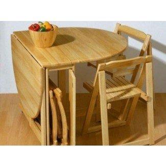 Mesa y sillas de cocina que ahorran espacio - Ideas de cocina