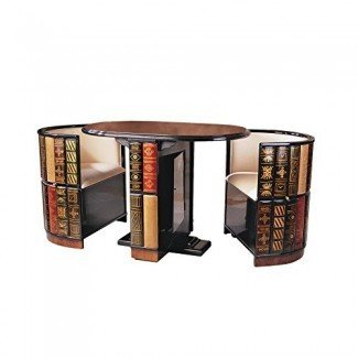 Diseño Toscano Nettlestone Library Ensemble