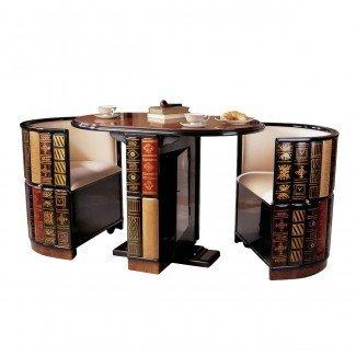 Diseños fabulosos de mesa y sillas para ahorrar espacio - Decofurnish
