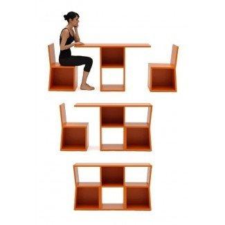 15 ideas prácticas de mesa y silla para ahorrar espacio - Pequeño