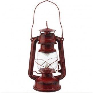 LED de estilo vintage rojo con pilas de llama móvil ...