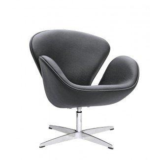 Silla Swam Barrel [19659022] Swan Lounge Chair