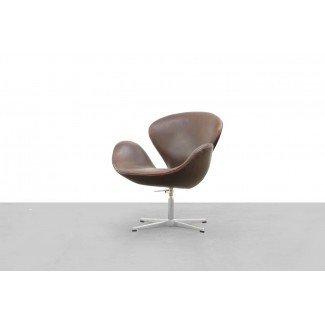 3320 Swan Chair de Arne Jacobsen para Fritz Hansen, 1957