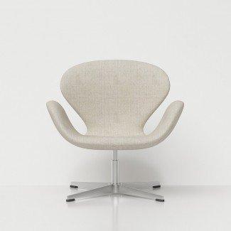 Silla 3D Swan Arne Jacobsen - Modelos 3D de alta calidad