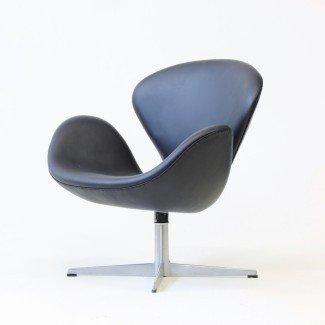 Swan Chair de Arne Jacobsen para Fritz Hansen, 1965 para