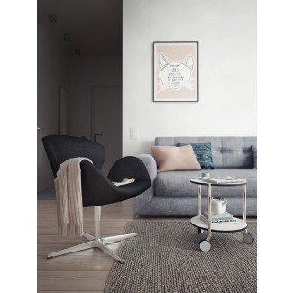 silla moderna para cisne | Ideas de diseño de interiores.