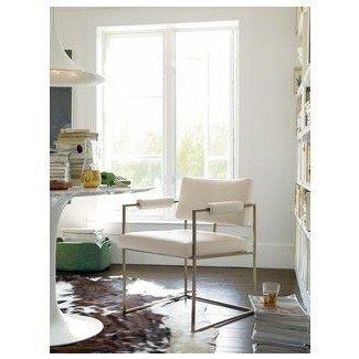 Armazones de metal, sillas tapizadas y olmo oeste en Pinterest