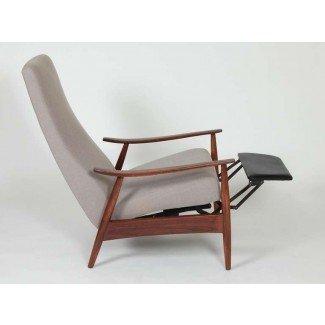 Sillón reclinable / sillón Milo Baughman en 1stdibs