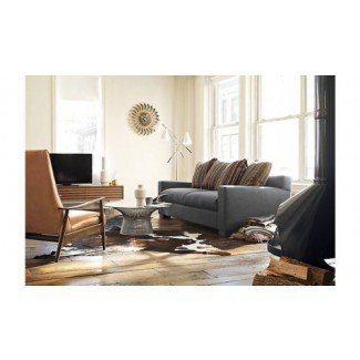 Sillón reclinable Milo Baughman 74 en cuero moderno DWR ...