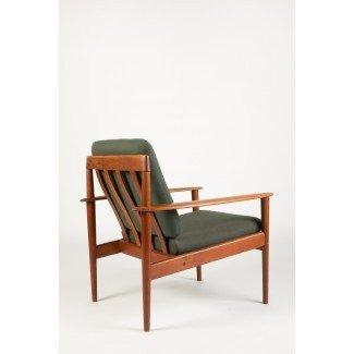 Grete Jalk Easy Chair Teak Jeppesen - okay art