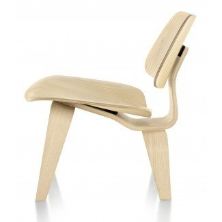 Sillón de madera contrachapada moldeada Herman Miller Eames® - Wood ...