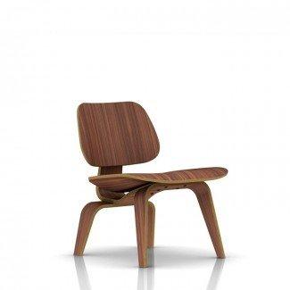 Sillón lounge de contrachapado moldeado Herman Miller Eames® - Madera ...