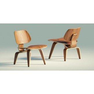 Sillón Eames Wood Activo LCW 3D   CGTrader
