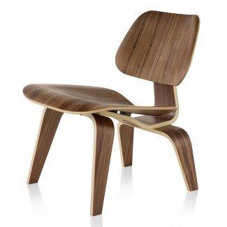 Herman Miller Eames ® Sillón de madera contrachapada moldeada - Madera ...