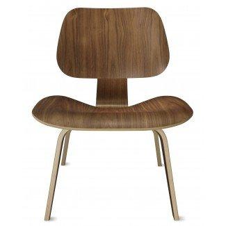 Silla de salón de madera contrachapada moldeada Herman Miller Eames® - Wood ...