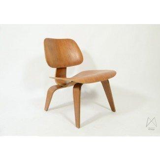 Silla de salón Originele Eames Wood (LCW) 1950 «