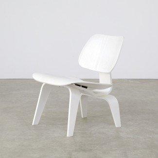 Eames Lounge Chair Wood 'LCW' White Edición Limitada para ...