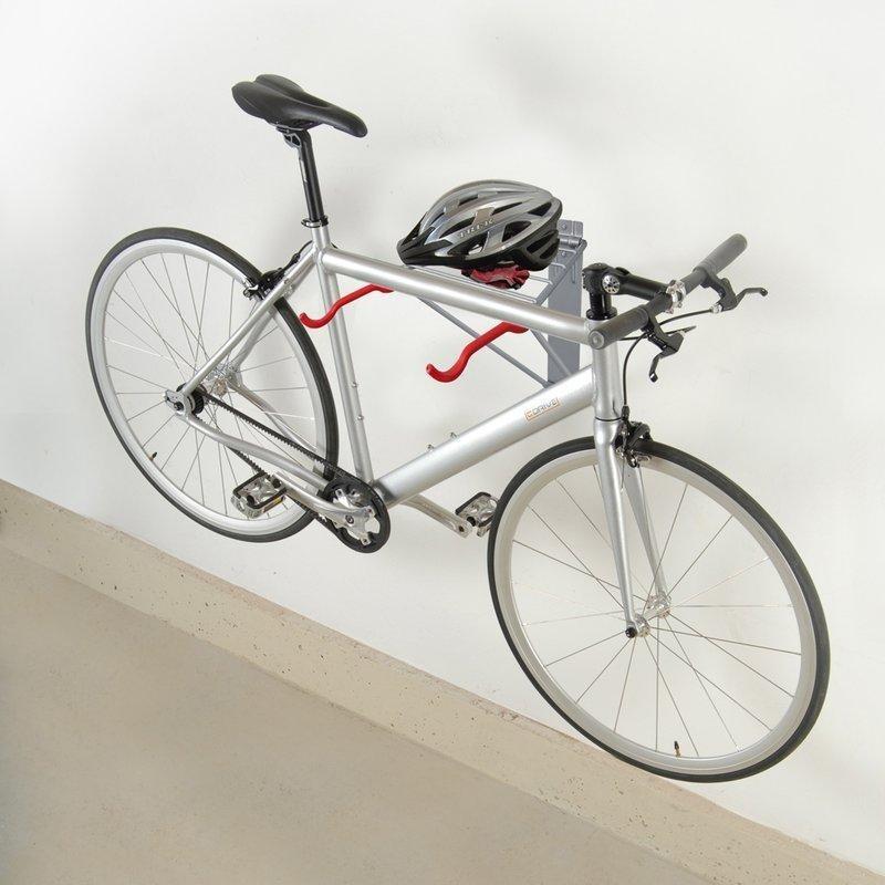 Portabicicletas para bicicleta 2 montado en la pared