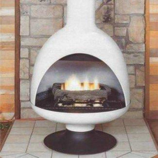 Chimeneas Malm GF3 Fire Drum 3 Chimenea de gas independiente ...