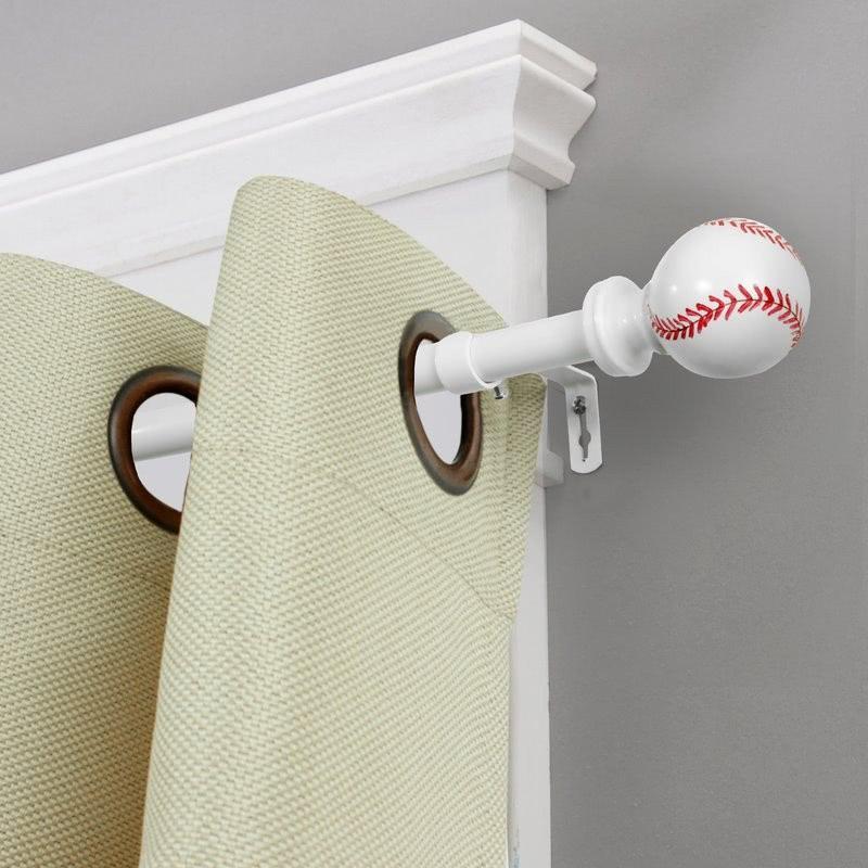 Barra de cortina de gorra de béisbol