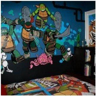 Más de 25 ideas únicas de dormitorios de tortugas Ninja en Pinterest   Ninja