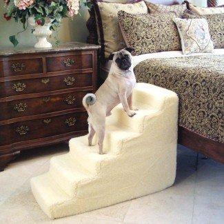 Escalera para mascotas con peldaños de 6 escalones