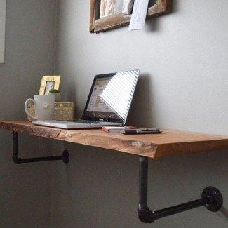 La mejor pared 25+ de escritorio montado en Pinterest | Flotante