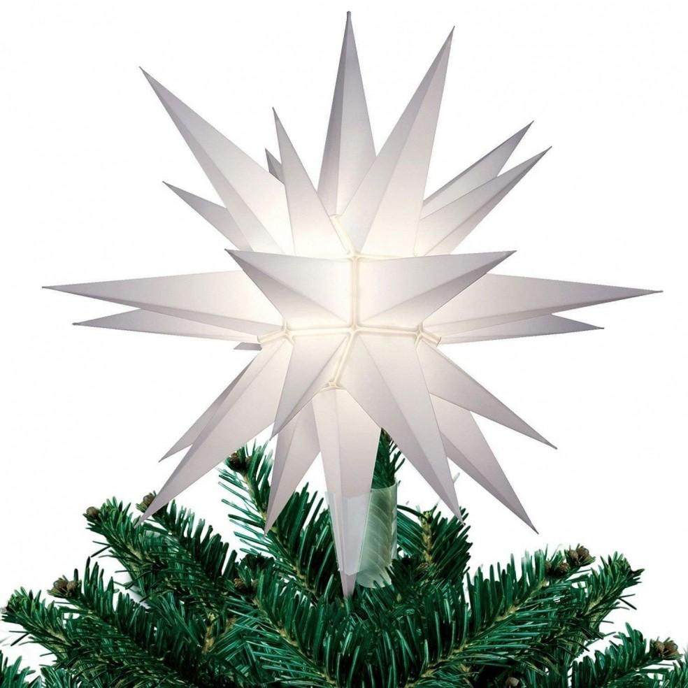Estrella del Árbol de Navidad