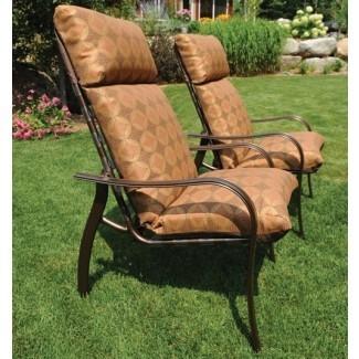cojines para sillas de patio con respaldo alto