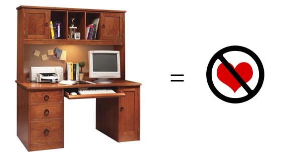 """computer-desk-no-love """"width ="""" 582 """"height ="""" 314 """"srcset ="""" https://mokadecoracionshop.com/wp-content/uploads/2020/07/11-escritorios-modernos-minimalistas-para-computadora.jpg 582w, http: //cdn.home- design.com/wp-content/uploads/2010/06/computer-desk-no-love-100x55.jpg 100w """"tamaños ="""" (ancho máximo: 582px) 100vw, 582px """"> </p> <p> … pero de alguna manera simplemente no funciona para mí. En cuanto al diseño, soy más minimalista, así que, naturalmente, los que me gustan también favorecen este tipo de estilo. Estos <strong> escritorios minimalistas para computadora </strong> que vamos a presentar son livianos, es agradable a la vista y la mayoría de ellos son tan elegantes como la tecnología para la que están diseñados. </p> <p> OneLessDesk de Heckler Designs tiene un diseño de 2 plataformas y ocupa solo 12 pulgadas de espacio cuando se guarda. en realidad suena convincente. </p> <blockquote> <p> En un momento, necesitas Edó un escritorio que cabía en una montaña de papel, un monitor de dos pies de profundidad, una impresora y una CPU del tamaño de un Labrador. Hoy, su computadora tiene una pulgada de grosor. Has avanzado Es hora de que su escritorio se enganche. </p> </blockquote> <p><img class="""