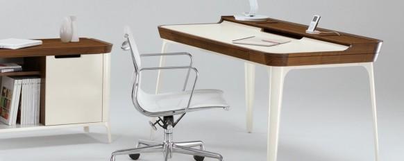 escritorio de dibujo minimalista