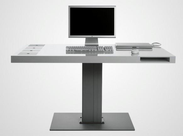 escritorio inalámbrico de leche
