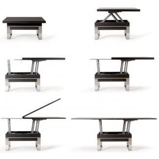 Mesa de café de altura ajustable