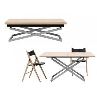 Mesa de café de altura ajustable 1