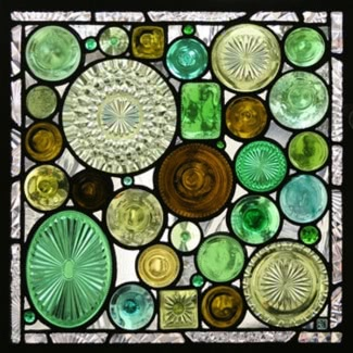 Patrones de sirenas de vidrieras