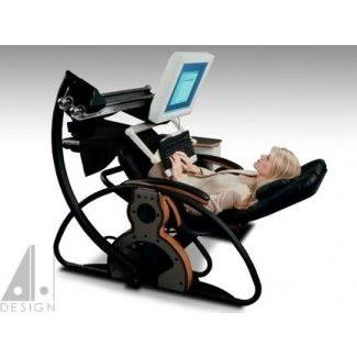 Escritorio reclinable para computadora