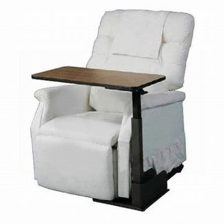 Drive 13085l silla reclinable asiento reclinable sobre cama mesa de comedor izquierda