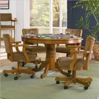 Silla de juego informal Coaster Home Furnishings 100952, roble