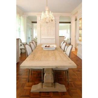 Mesas de comedor con capacidad para 10