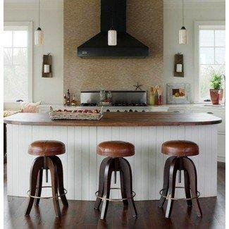 22 ideas únicas de diseño de taburetes de bar de cocina · Decoración de vivienda