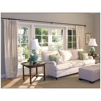 Diferentes formas de colgar cortinas