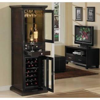 Bar con refrigerador