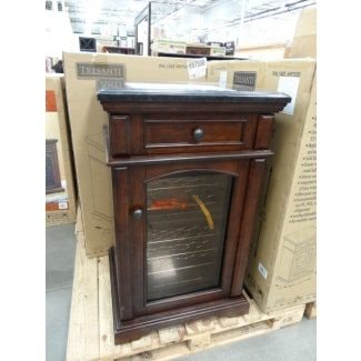 Muebles para gabinetes de refrigerador para vinos