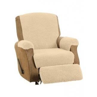 Funda reclinable de vellón, color natural