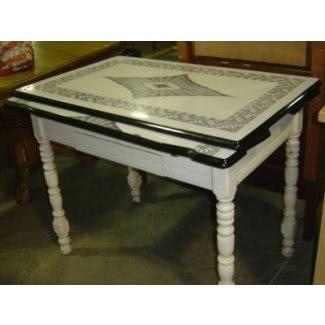 Mesa de cocina superior de formica
