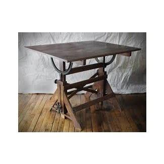 Mesa de dibujo antigua 17