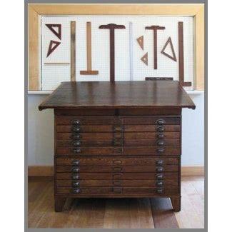 Mesa de dibujo antigua 4