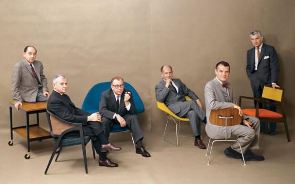 Página central de la revista Playboy 1961