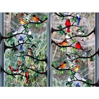 Paneles de vidrieras para ventanas
