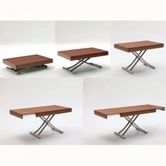 Mesa de café plegable